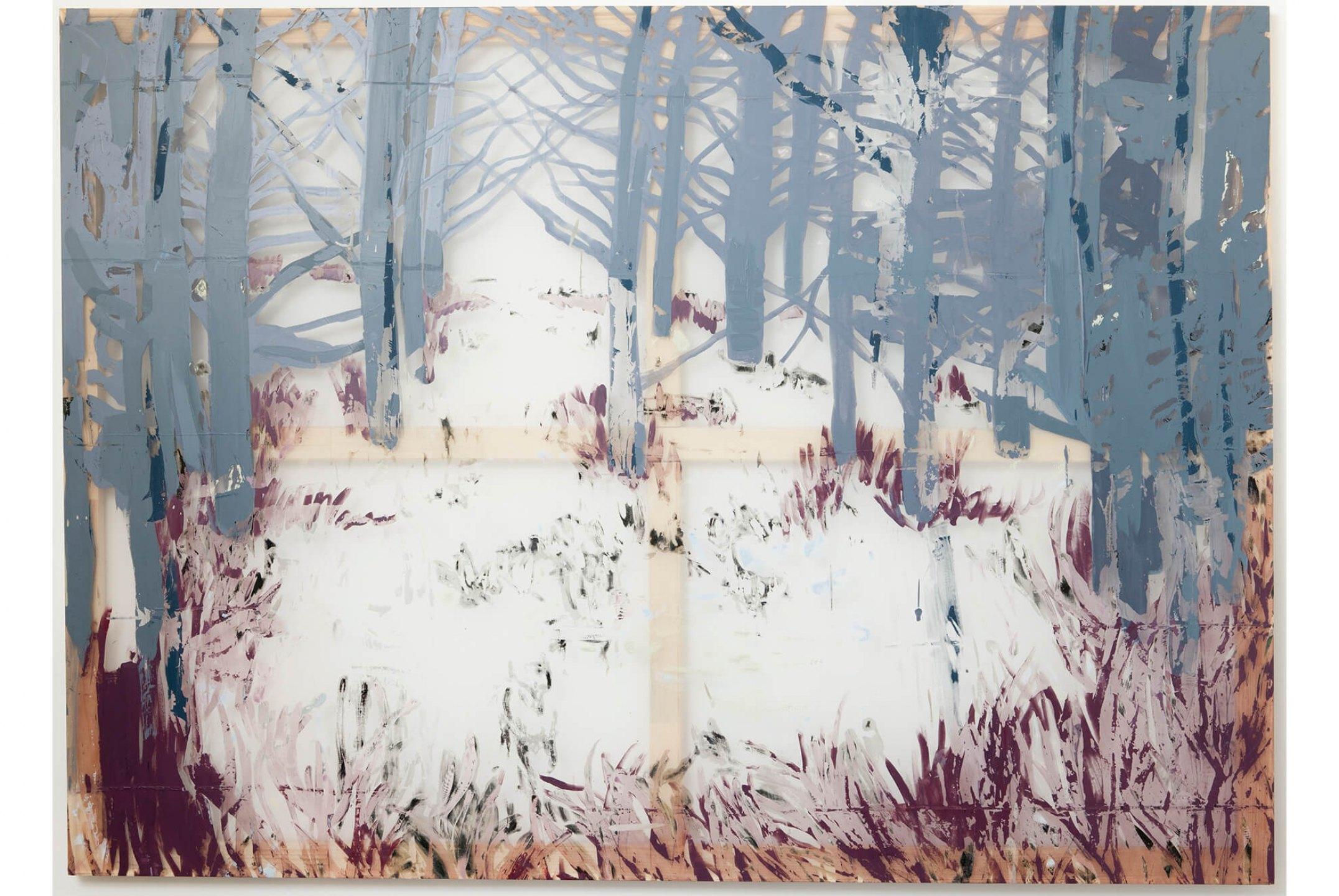 Marina Perez Simão, <em>Untitled</em>, 2012, acrylic on polyester, 51,1× 69,9 inches - Mendes Wood DM
