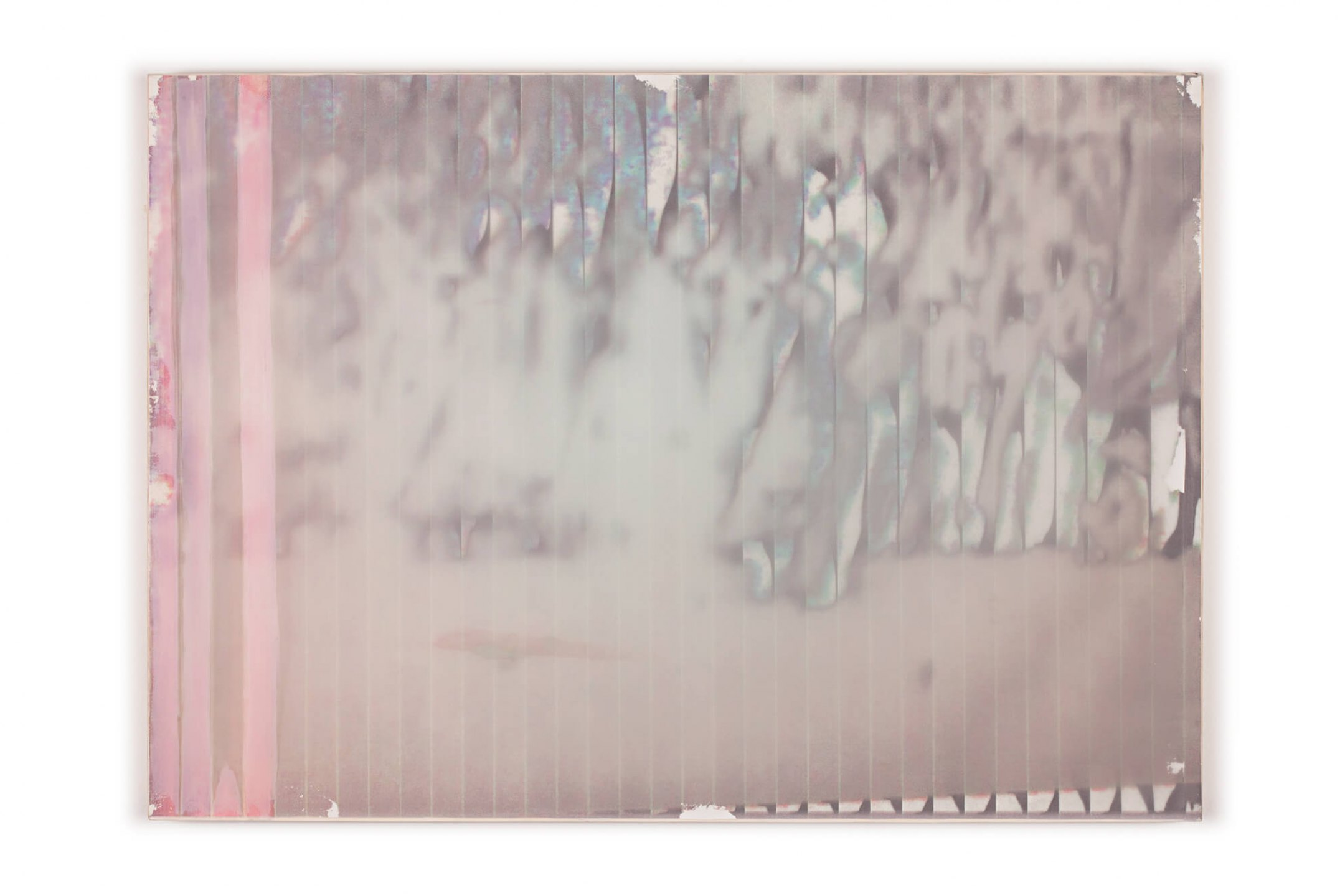 Marina Perez Simão,<em> Untitled</em>, 2013, reflexive pigment on polyester and fire-proof paper print, 63&nbsp;× 88,5 cm - Mendes Wood DM