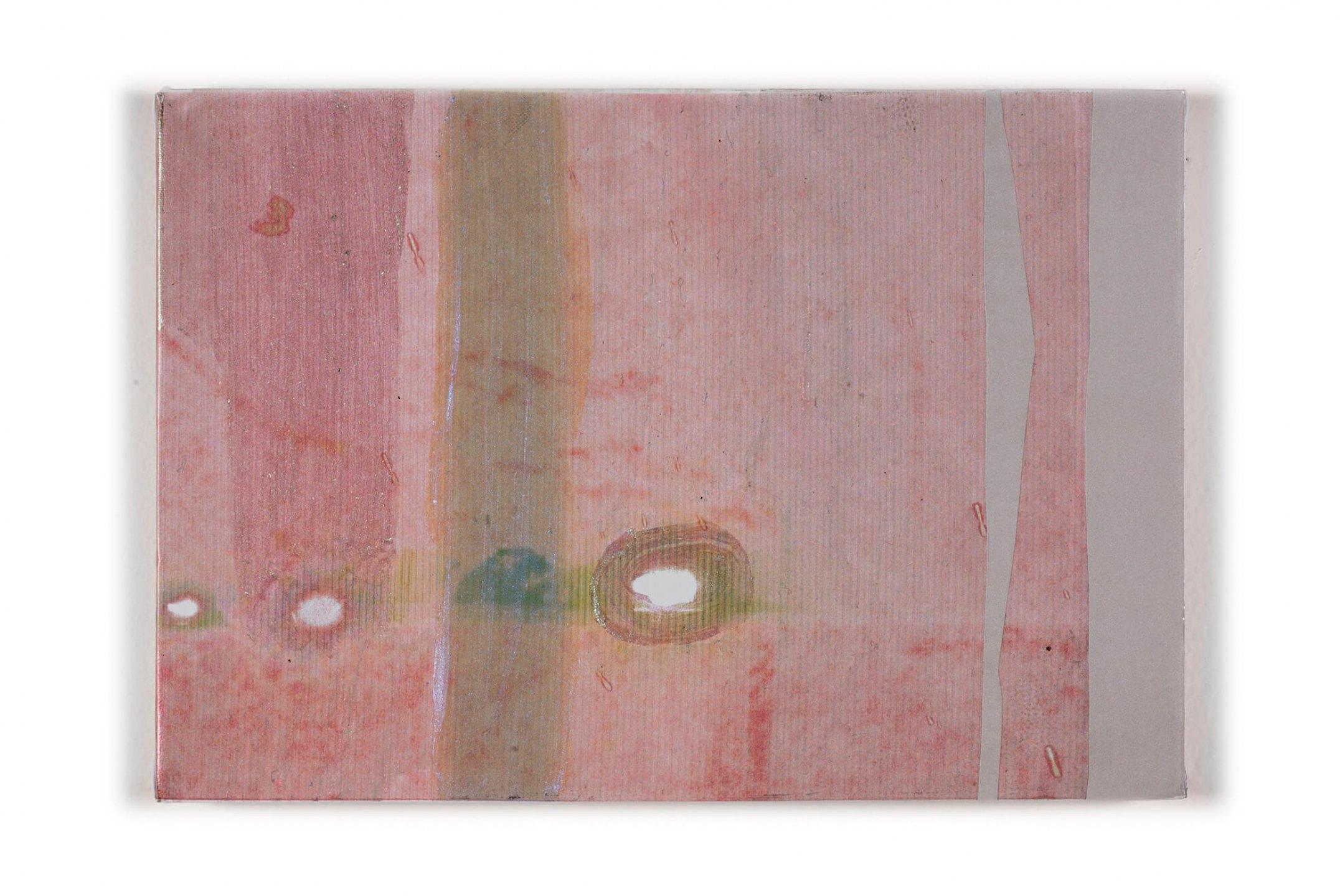 Marina Perez Simão,<em>Untitled</em>, 2013, pigment and reflective on block-out canvas, 35 × 24 cm - Mendes Wood DM