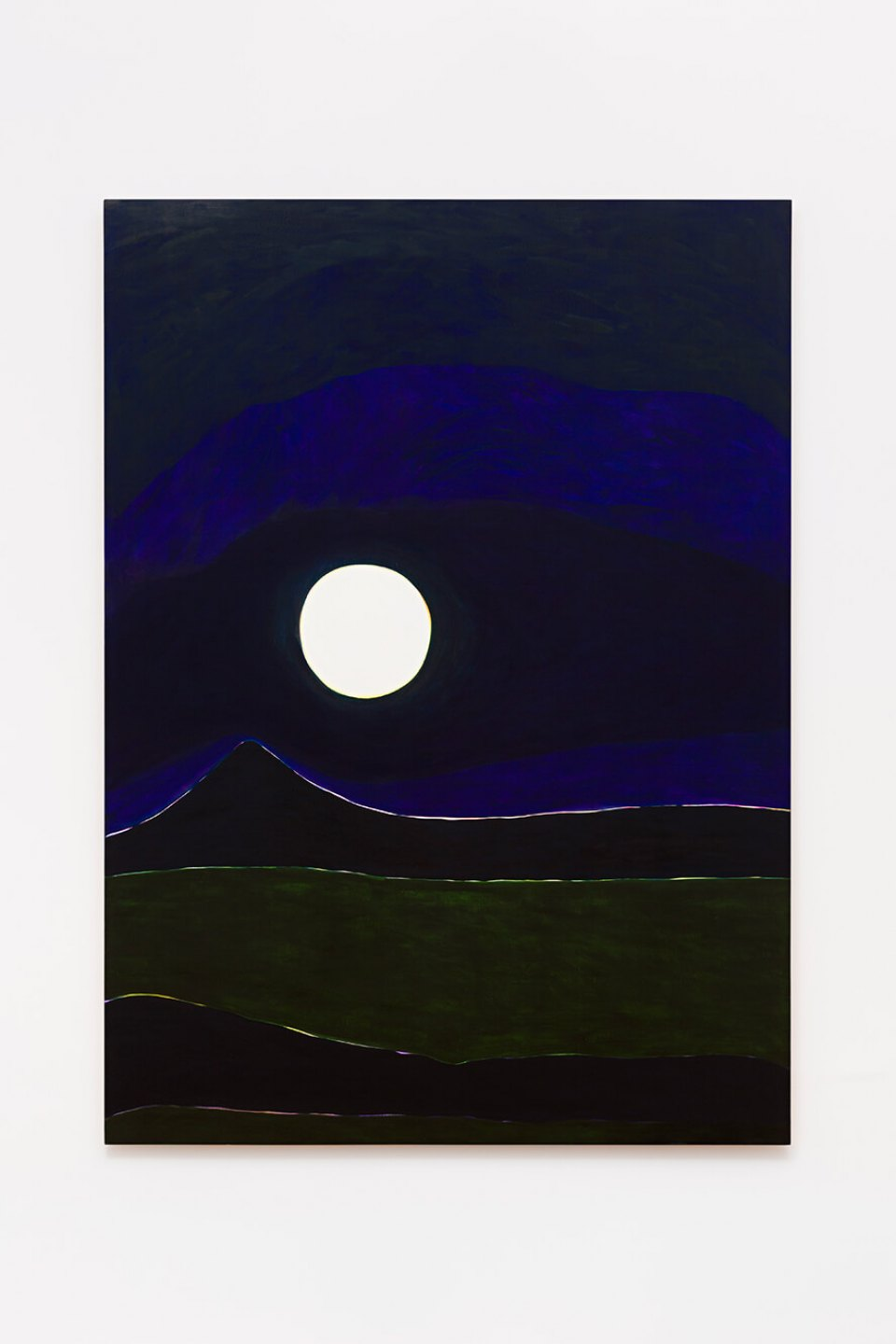 Patricia Leite, <em>Super Moon</em>, 2014, oil on wood, 220 × 160 cm - Mendes Wood DM