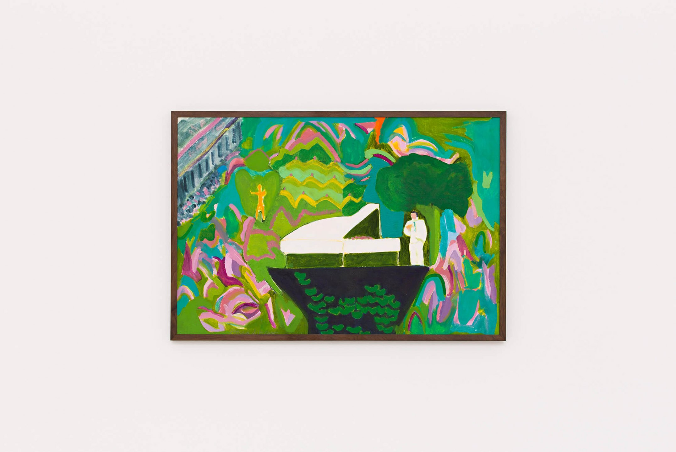 Patricia Leite, <em>Tonzinho,</em>&nbsp;2015, óleo sobre papel, 30 ×&nbsp;40 cm - Mendes Wood DM