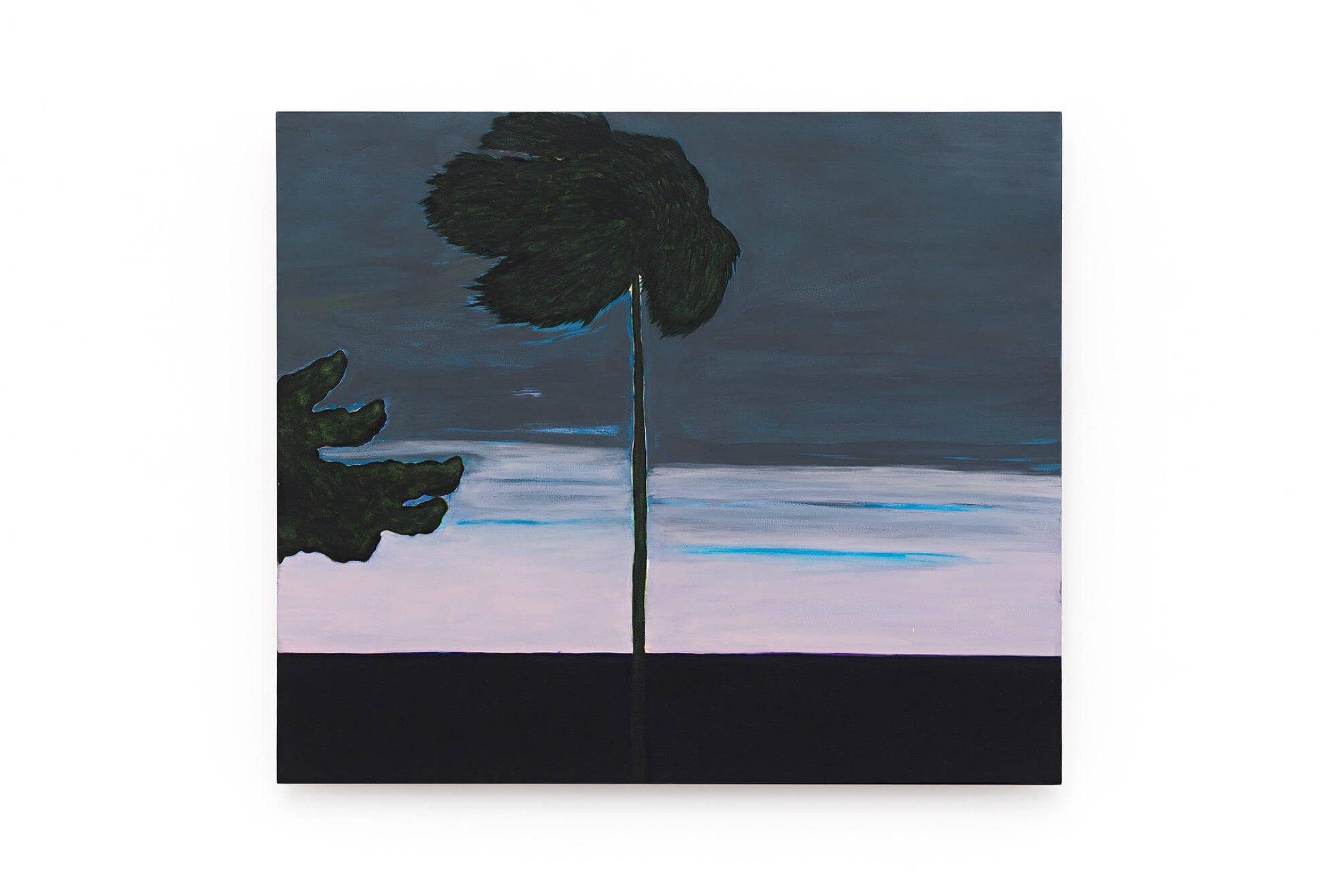 Patricia Leite,<em> Amanhecendo na Bahia,</em>2015, oil on wood, 60×70 cm - Mendes Wood DM