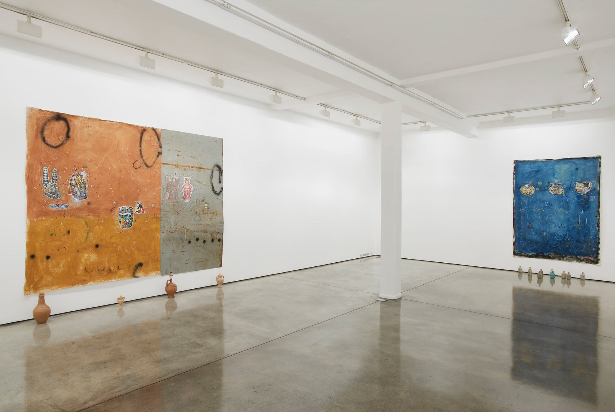 Paulo Nimer Pjota,&nbsp;<em>Synthesis between contradictory ideas and the plurality of the object as image II,</em> Maureen Paley, London, 2016 - Mendes Wood DM