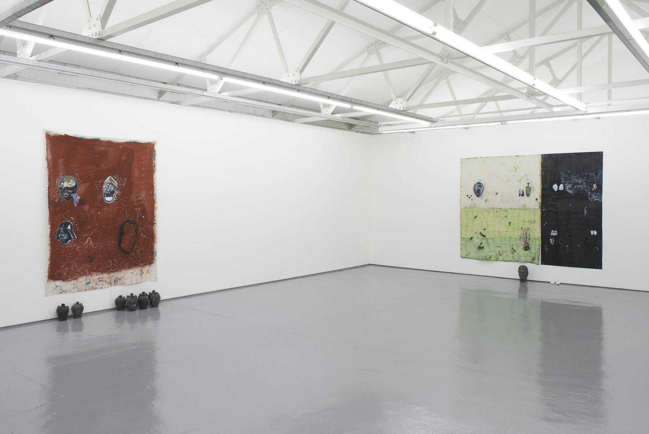 Paulo Nimer Pjota,<em>Synthesis between contradictory ideas and the plurality of the object as image II</em>, Maureen Paley, London, 2016 - Mendes Wood DM