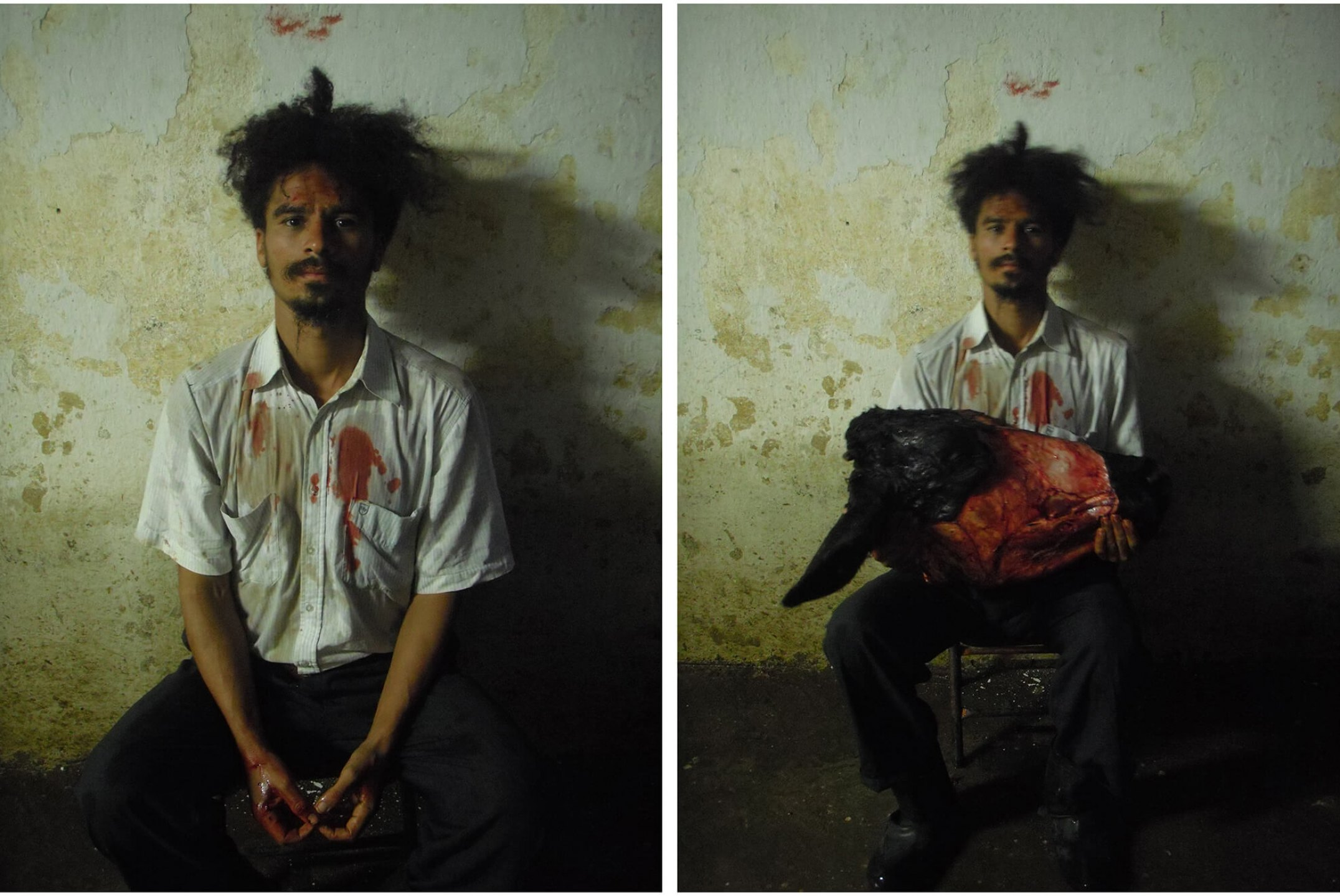 Paulo Nazareth, <em>untitled</em>, 2010, photo printing on cotton paper, 24 × 18 cm (each) - Mendes Wood DM