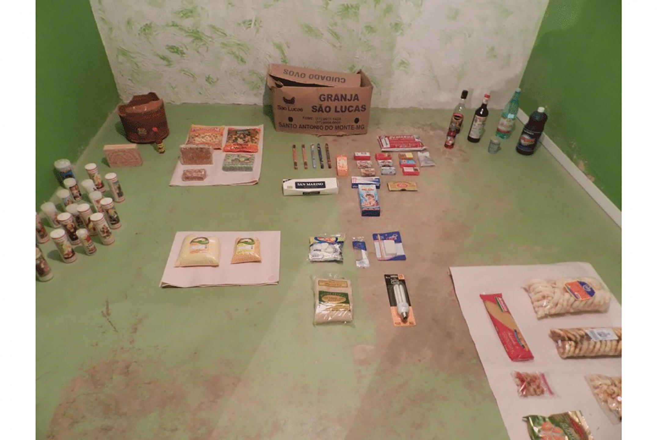 Paulo Nazareth, <em>Bienal de Veneza/Neves</em>, Ribeirão das Neves, 2013 - Mendes Wood DM