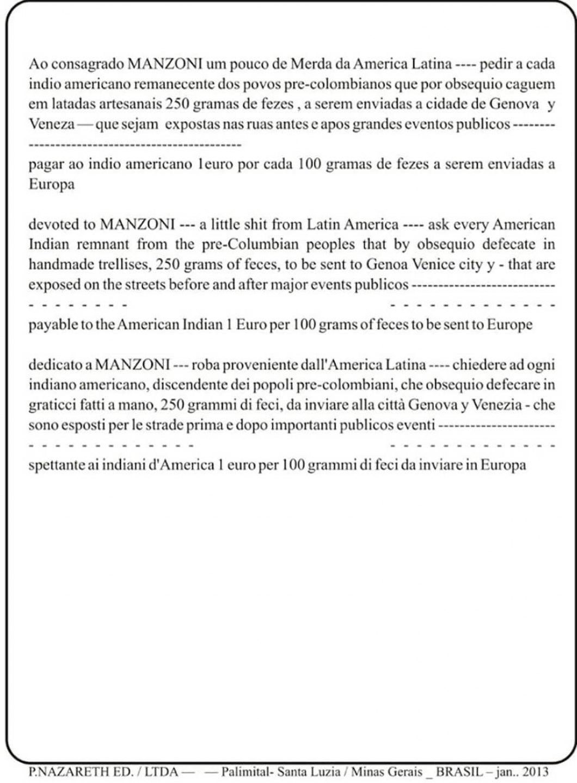 Paulo Nazareth,<em>untitled, from Cadernos de África series</em>,2013,inkjet on newsprint  - Mendes Wood DM