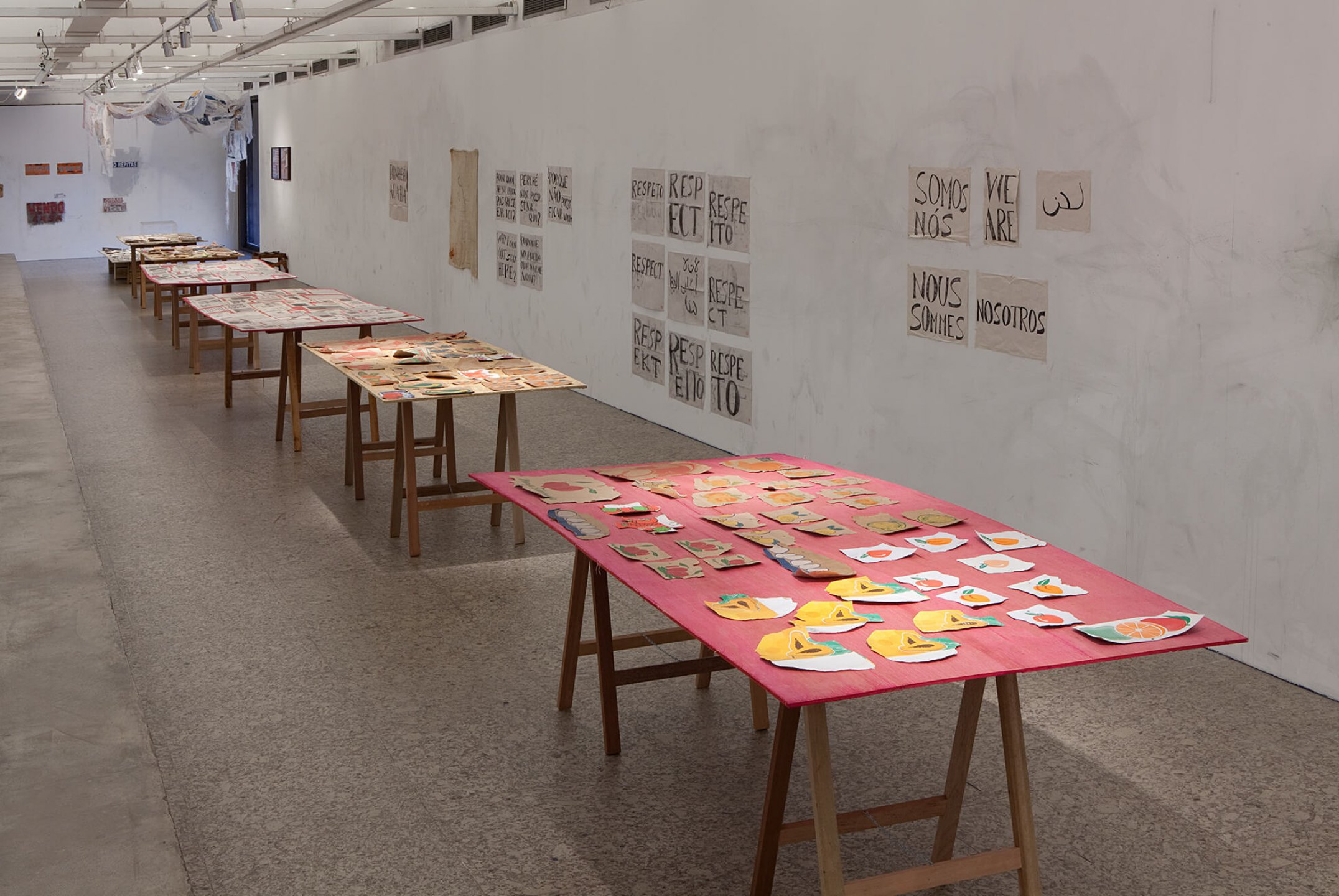 Paulo Nazareth,<em>Premium Bananas,</em> 2012/2013,Museu de Arte de São Paulo – MASP, São Paulo - Mendes Wood DM