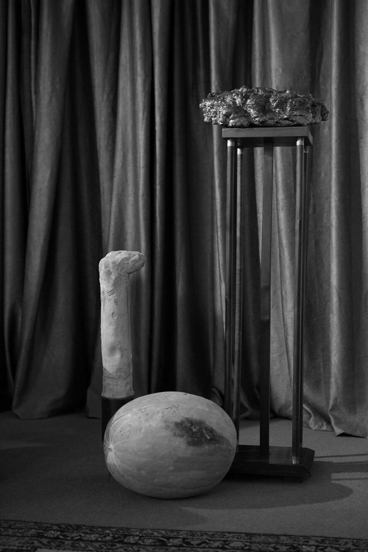 Luiz Roque & Erika Verzutti, <em>Cast</em>, 2016,C-print,55 × 36,5 cm<br> - Mendes Wood DM