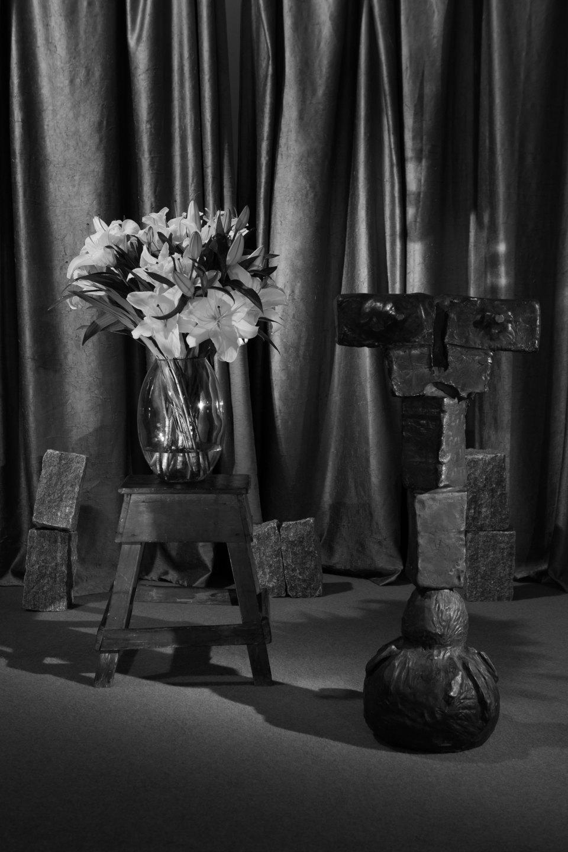 Luiz Roque & Erika Verzutti,<em>Estúdio</em>, 2016,C-print,55×36,5 cm - Mendes Wood DM