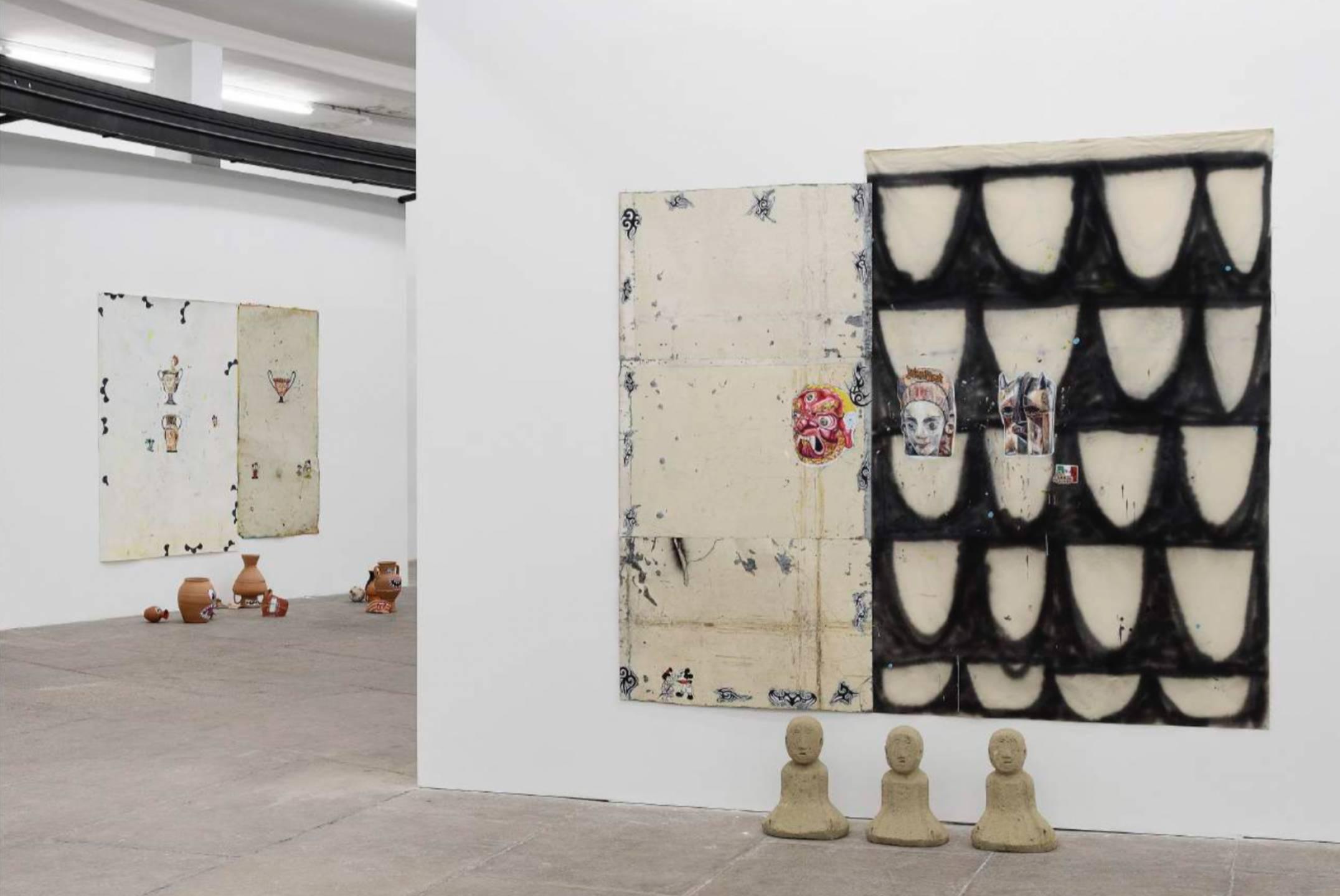 Paulo Nimer Pjota,&nbsp;<em>The history in repeat mode — Drama</em>,&nbsp;T293, Rome, 2017 - Mendes Wood DM