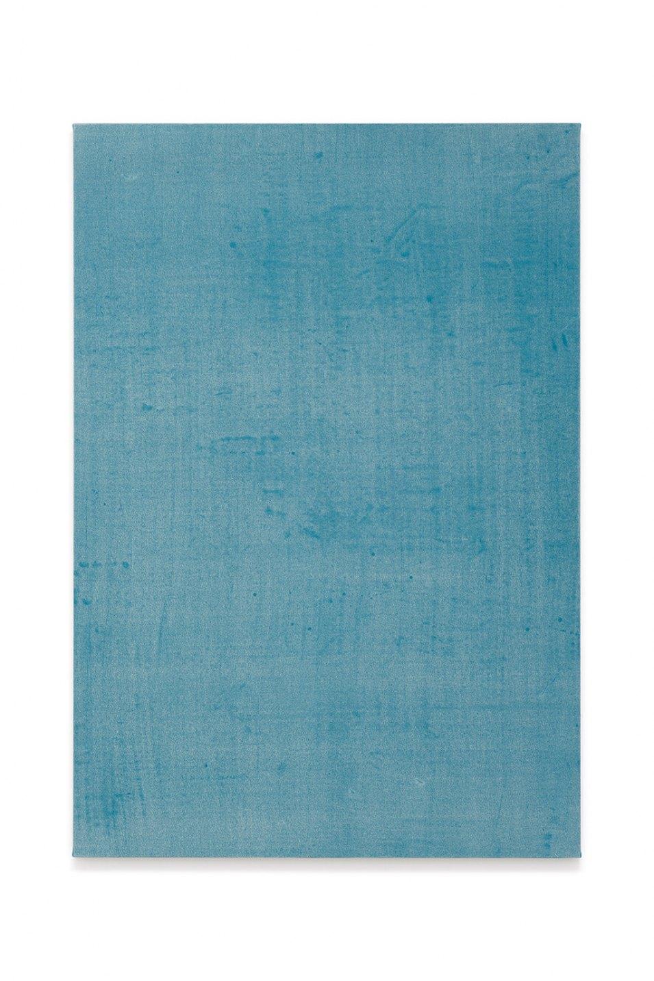 Francesco João Scavarda, <em>untitled (disturbing blue)</em>,2017,gouache on raw canvas,145 × 100 × 4 cm - Mendes Wood DM