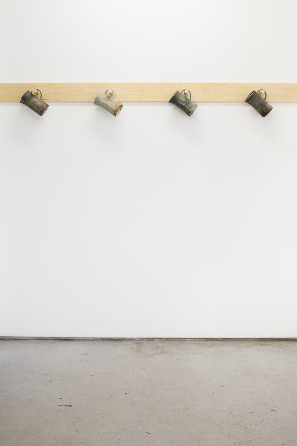 Matthew Lutz-Kinoy,<em>untitled, </em>2016, ceramics,variable dimensions - Mendes Wood DM