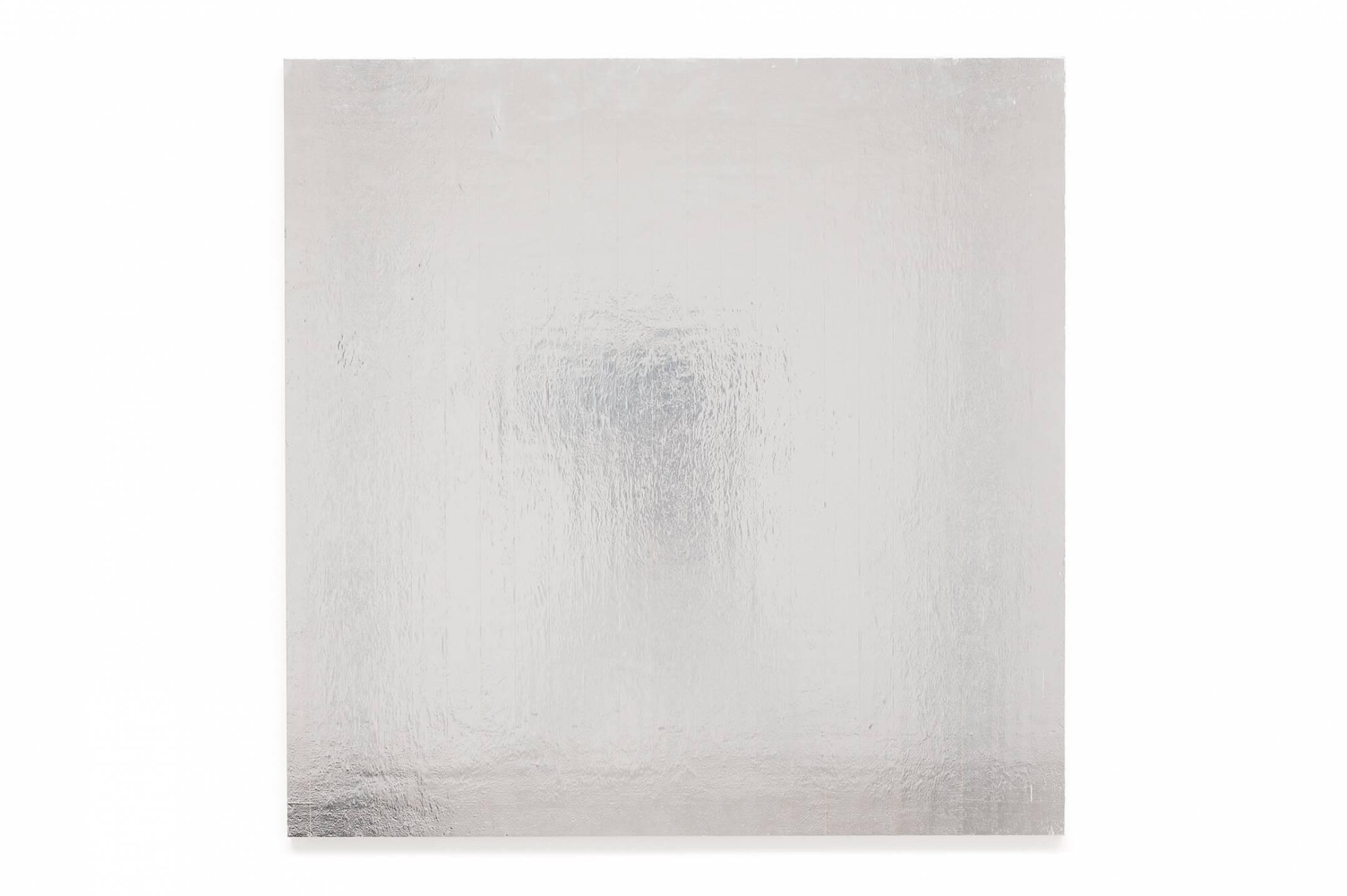 Alessandro Carano, <em>Tentaculus,</em> 2017, collage: tape on wood, 110 × 110 cm - Mendes Wood DM