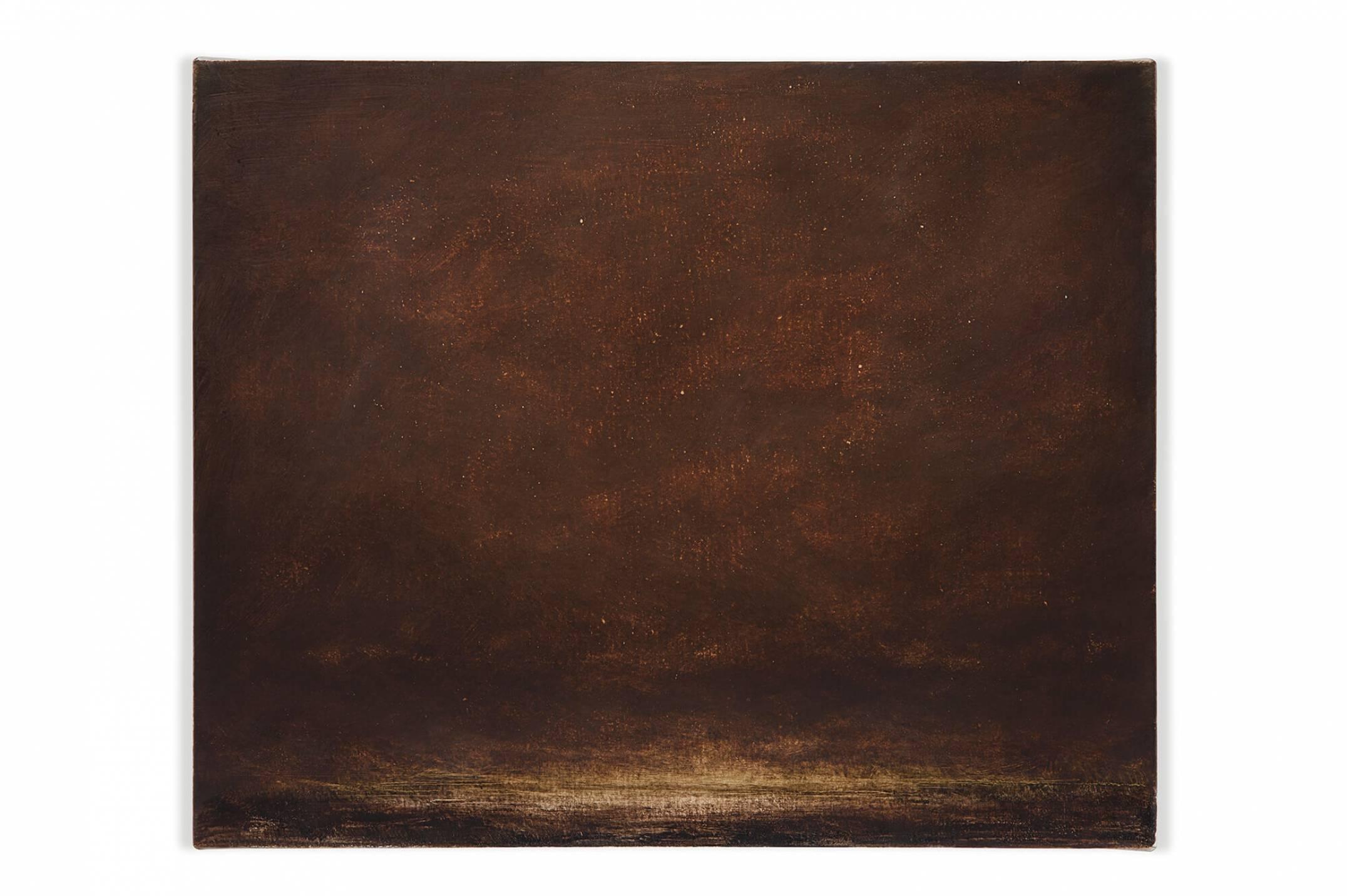 Lucas Arruda, <em>untitled,</em> 2014,oil on canvas,30 × 37 cm<br> - Mendes Wood DM