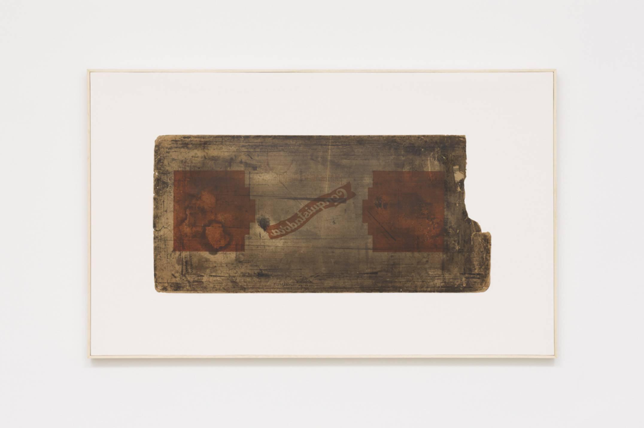 Lotus Lobo, <em>Conquistadora</em>,2016,lithograph on paper card, 70,5 × 115 cm - Mendes Wood DM