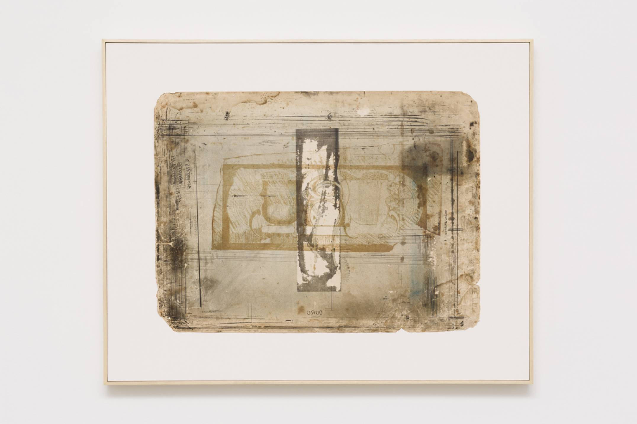 Lotus Lobo,<em>Cajuru</em>,2016,lithograph on paper card, 70,5 × 115 cm - Mendes Wood DM