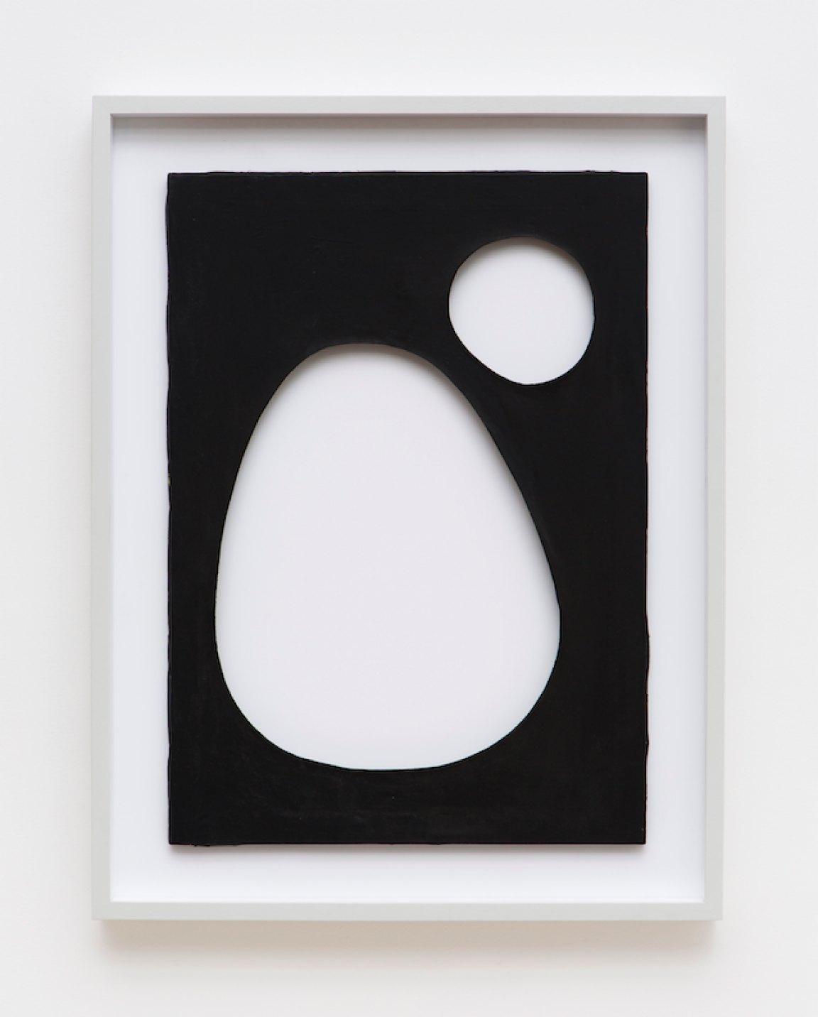 Dadamaino,<em>untitled,</em> from<em>Volumi</em>series,1959,water-based ink on canvas,70 ×60 cm - Mendes Wood DM