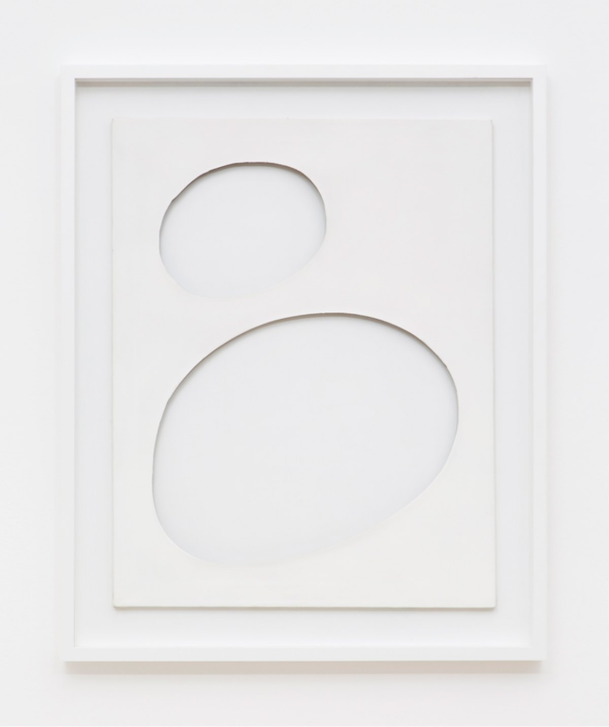 Dadamaino,<em>untitled,</em> from<em>Volumi</em>series,1959,water-based ink on canvas,90 ×70 cm - Mendes Wood DM