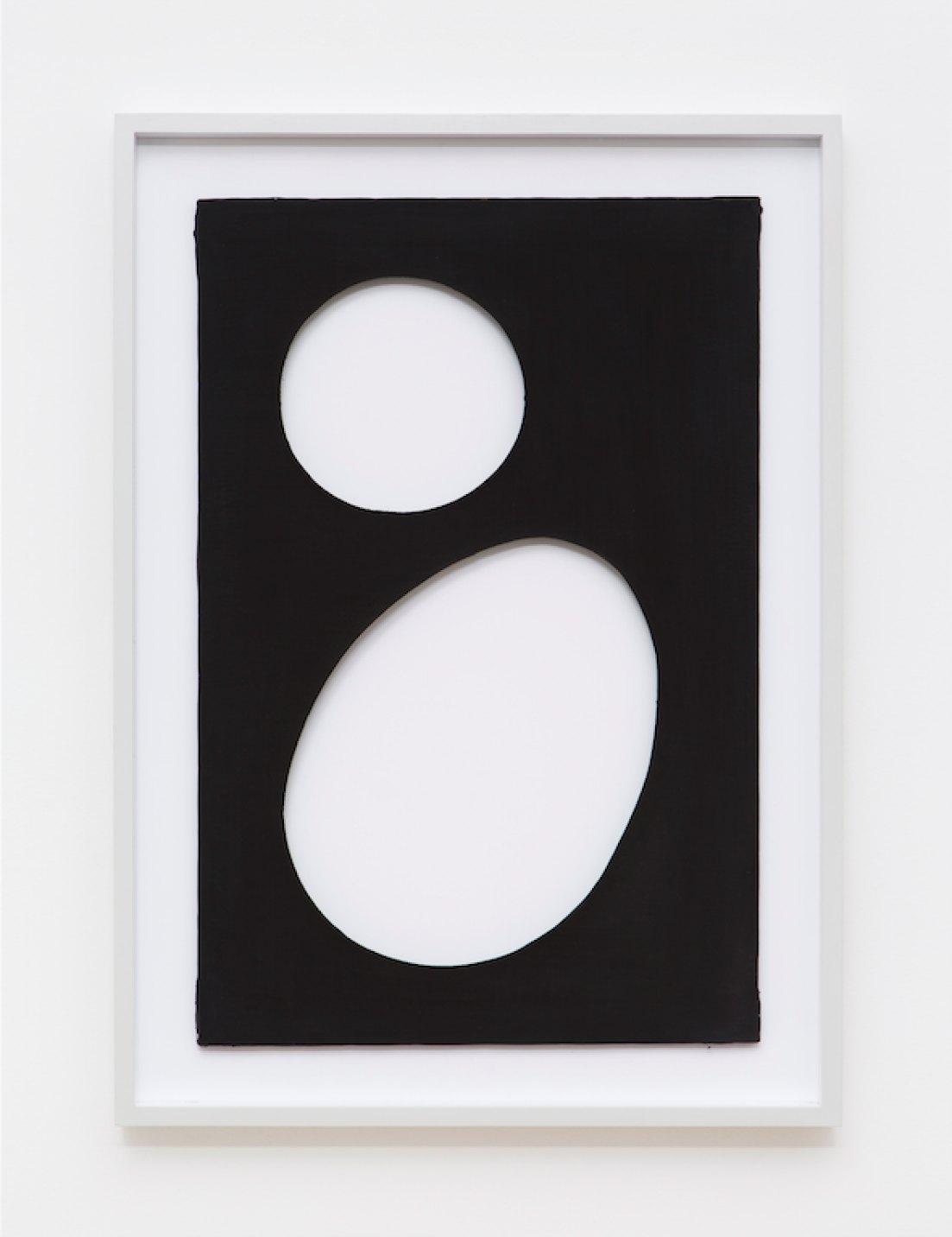 Dadamaino,<em>untitled</em>, from<em>Volumi</em>series,1959,water-based ink on canvas,90 ×60 cm - Mendes Wood DM