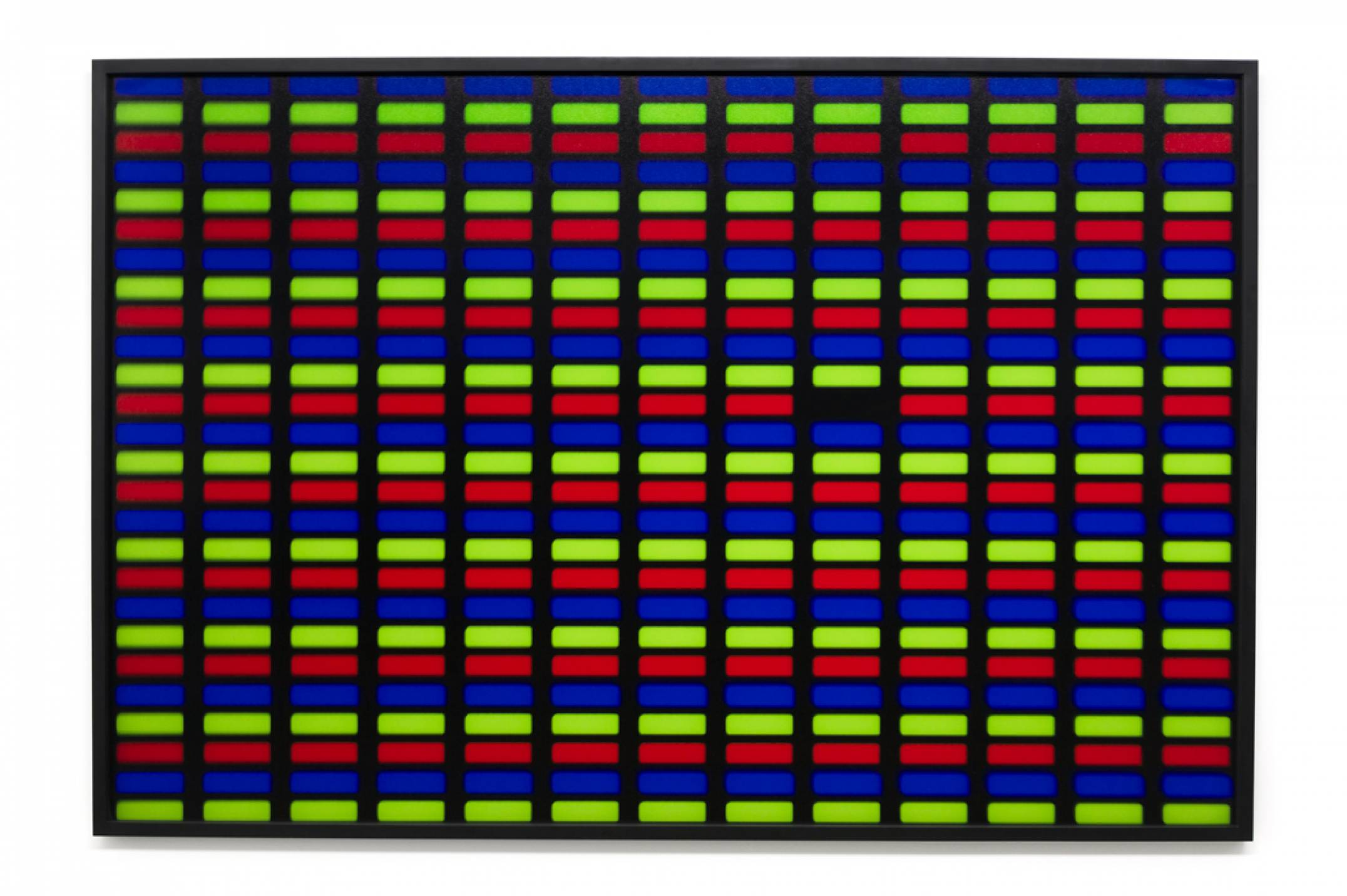 Roberto WInter,<em>Dead pixel (TFT)</em>, 2017, printing inkjet on paper Hahnemühle FineArt Baryta, 110 × 165 cm - Mendes Wood DM