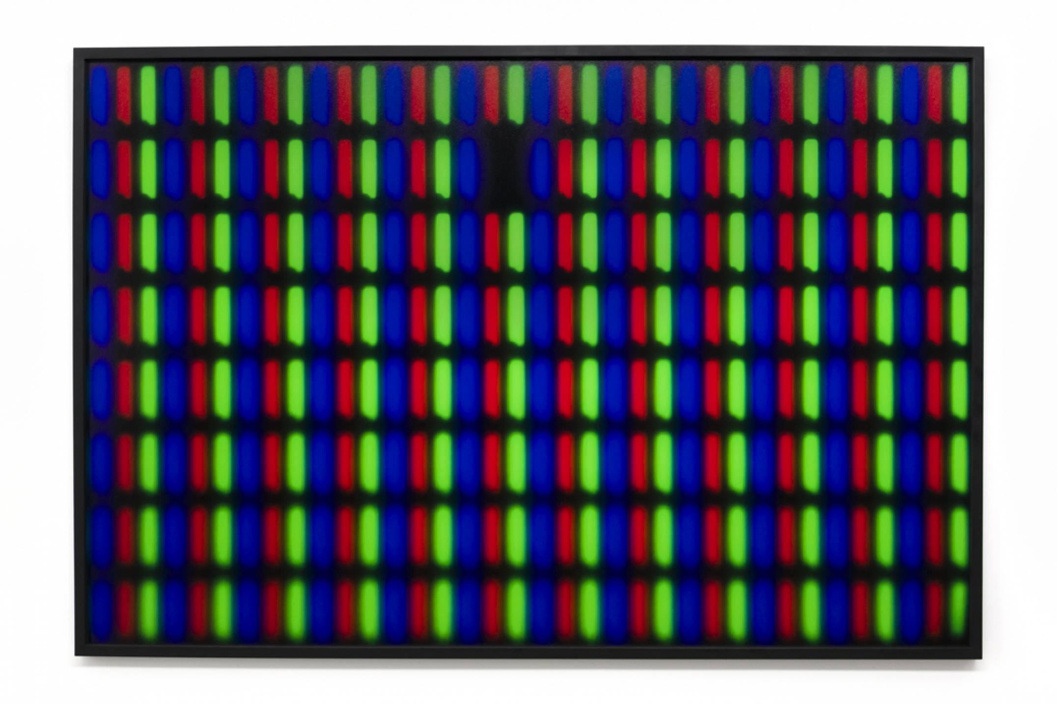 Roberto WInter,&nbsp;<em>Dead pixel (MacBook),</em> 2017, printing inkjet on paper Hahnemühle FineArt Baryta, 110 × 165 cm - Mendes Wood DM
