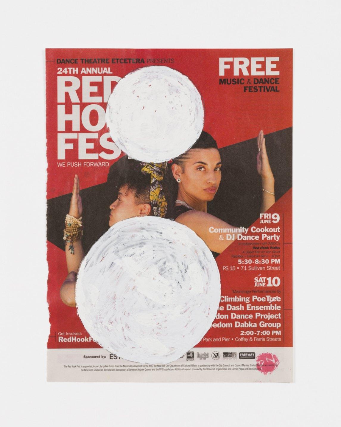 Paulo Nazareth,&nbsp;<em>FREE</em>, 2017, acrílica sobre papel de revista, 24 × 29 cm - Mendes Wood DM