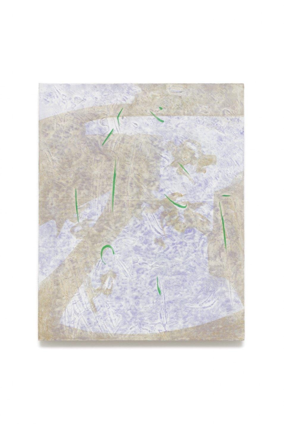 Iulia Nistor, <em>Evidence E/L0 F8 P8,</em>2017, oil on wood, 50 × 40 cm - Mendes Wood DM