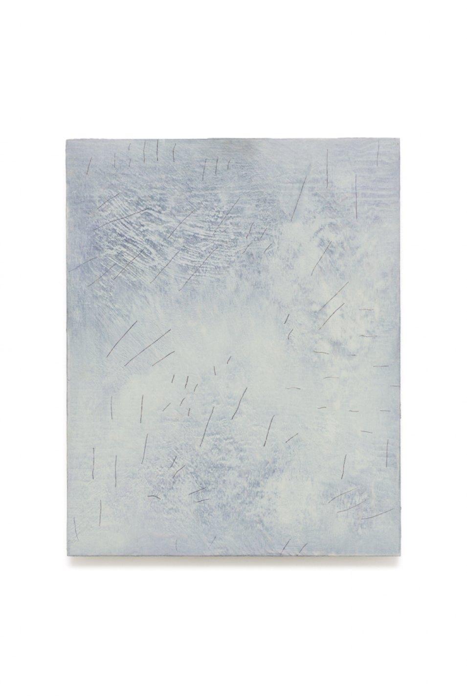 Iulia Nistor,<em>Evidence L6 F5 A9</em>, 2017, oil on wood, 50 × 40 cm - Mendes Wood DM