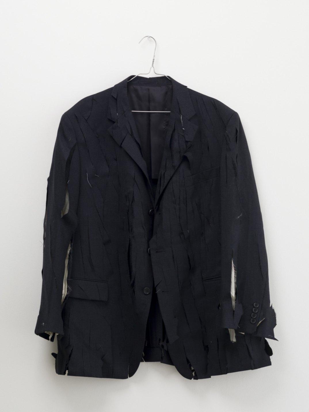 Ken Kagami, <em>Lucio Fontana's Jacket</em>, 2017, jacket, 87 × 57 cm - Mendes Wood DM