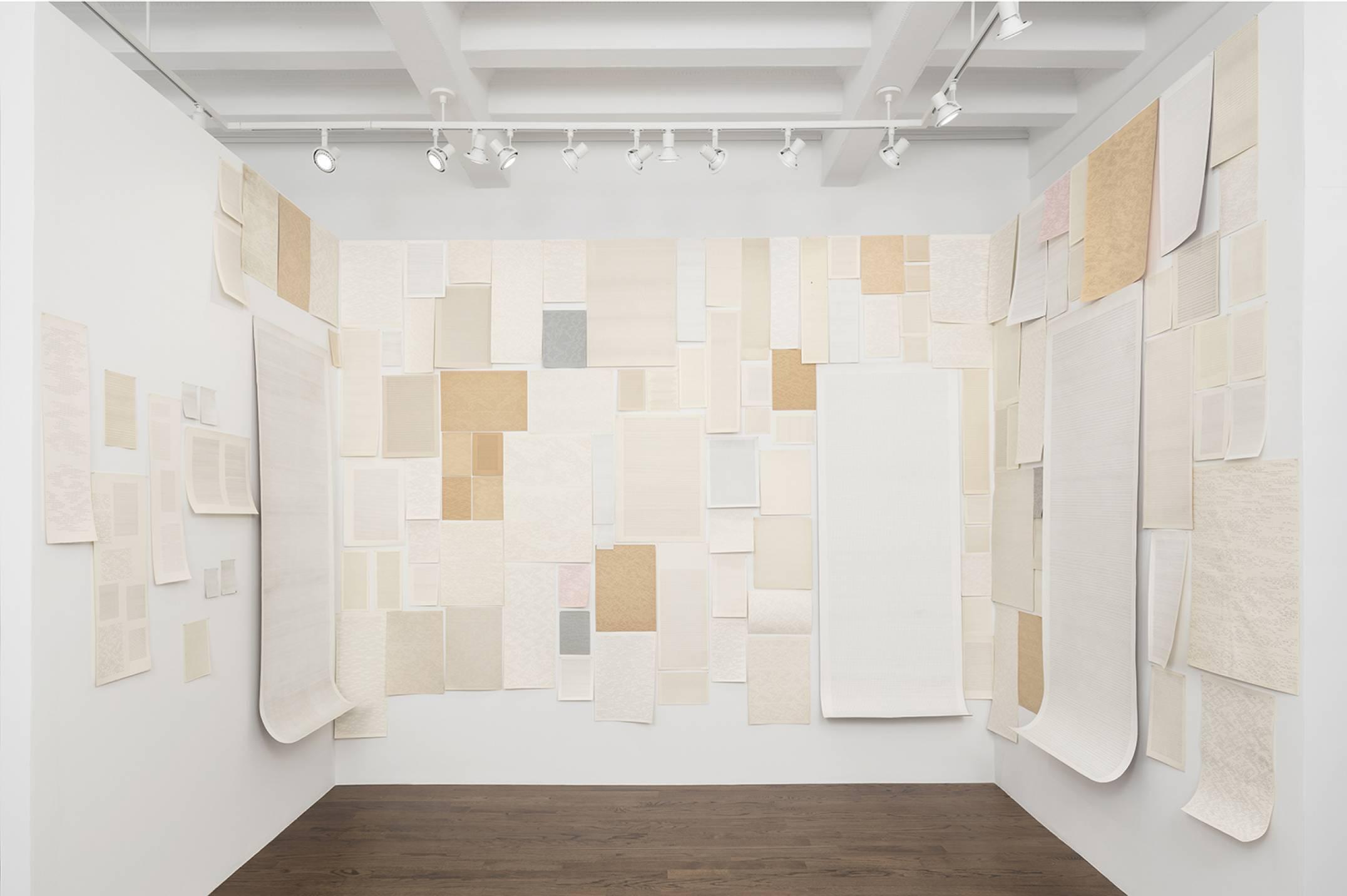 Dadamaino,&nbsp;<em>Fatti della Vita (The facts of life)</em>, 1977/1981, pen on paper, dimensions variable - Mendes Wood DM