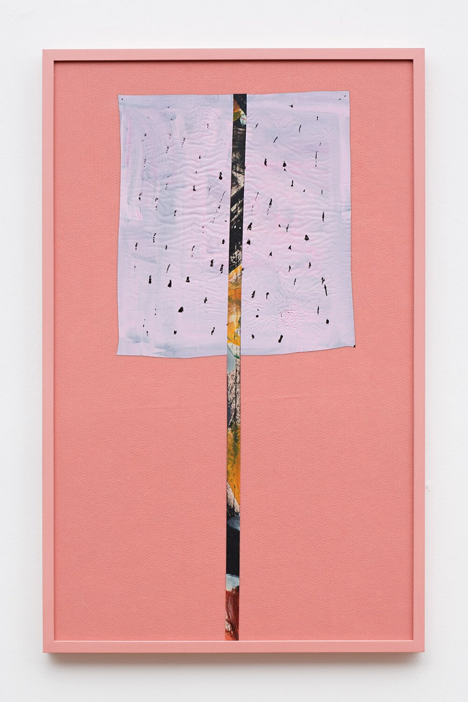 Adriano Costa, <em>Balloon</em>, 2013, felt and acrylic on paper and plastic, 82 × 52 cm - Mendes Wood DM