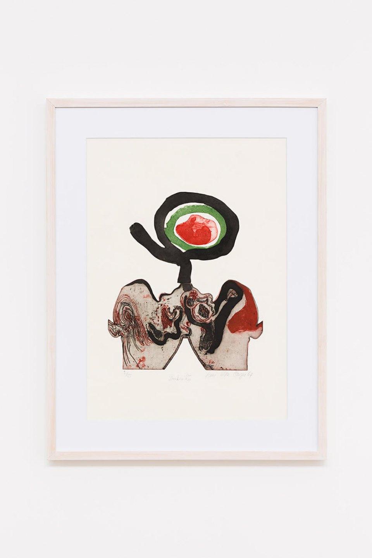 Anna Bella Geiger,<em>Embrião</em>, 1967, engraving on metal, aquatint, etching, relief on paper,74,5 ×55,5 cm - Mendes Wood DM