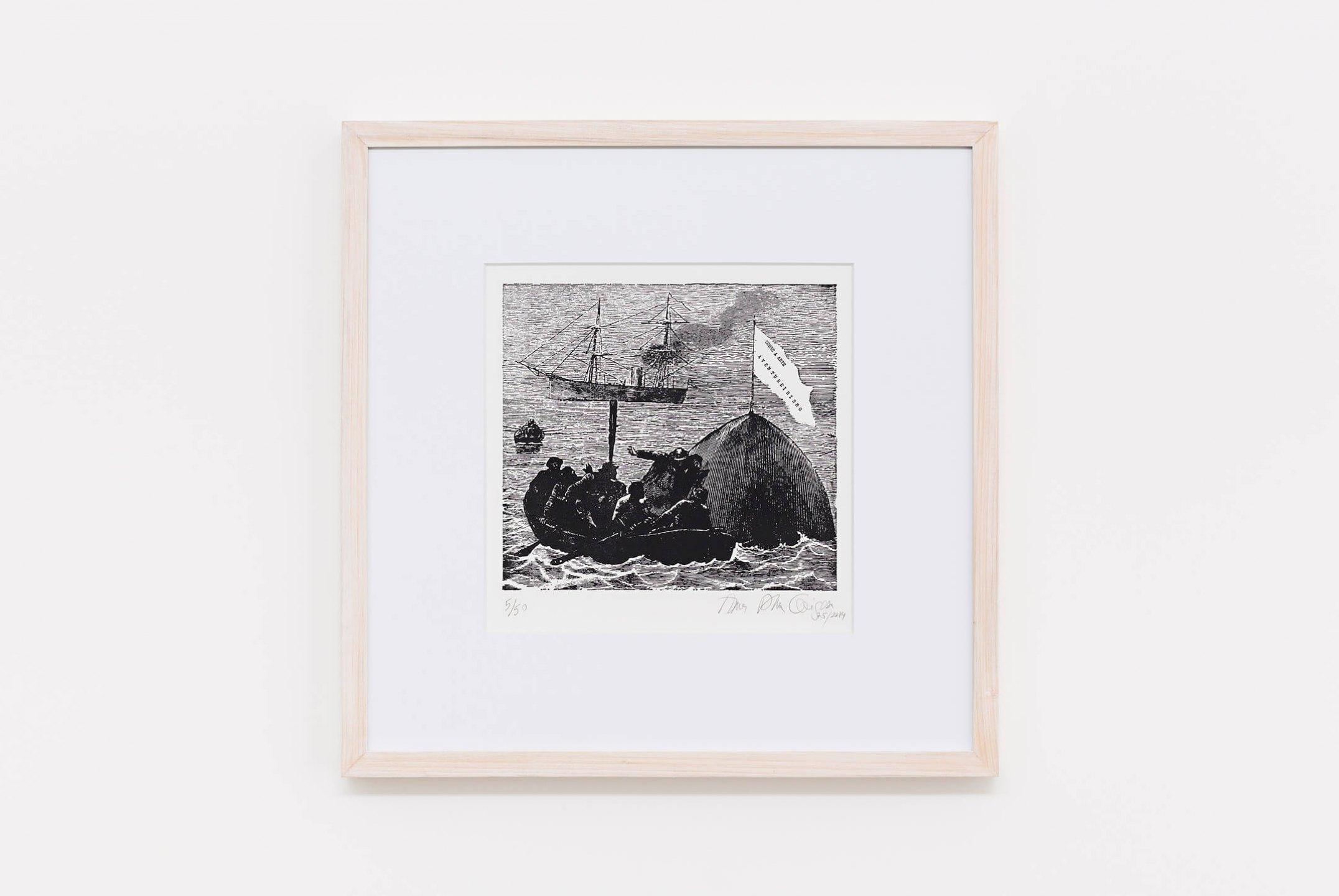 Anna Bella Geiger,<em>Aventureirismo</em>, 1975/2014, engraving on metal, 85 × 99 cm - Mendes Wood DM