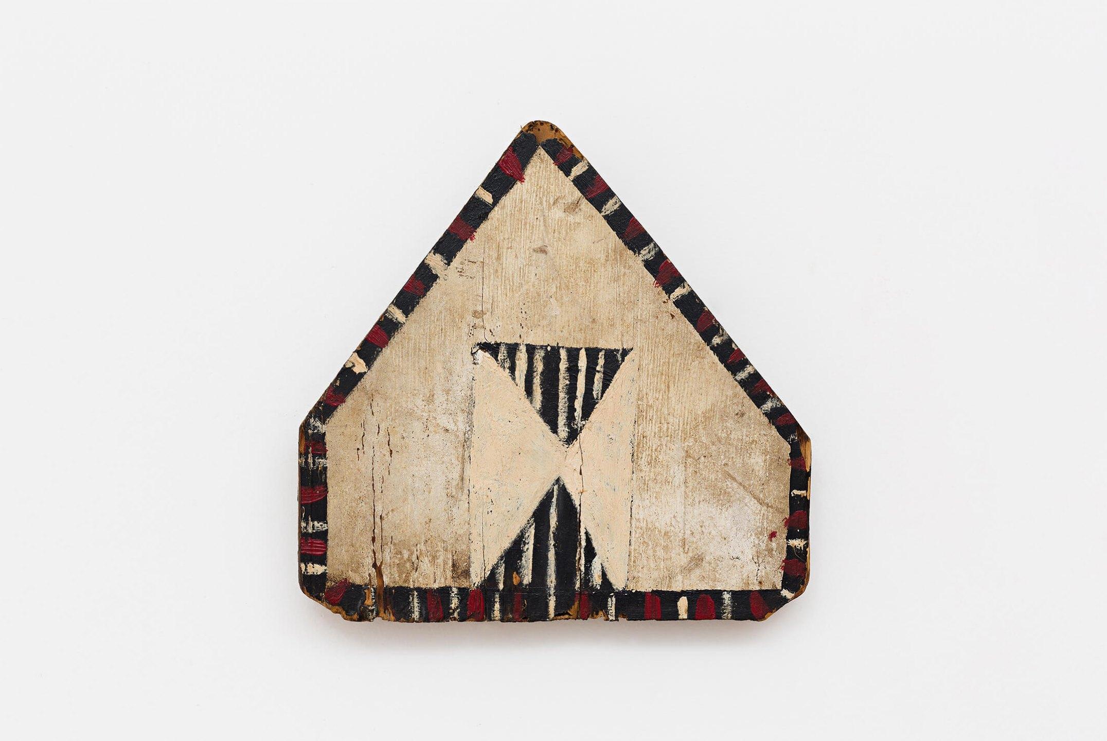 Celso Renato, <em>untitled</em>, circa 1975, acrylic on wood, 21 × 21 × 2 cm - Mendes Wood DM