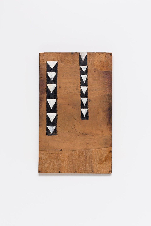 Celso Renato, <em>untitled</em>, circa 1975, acrylic on wood,7 × 35 × 4,5 cm - Mendes Wood DM