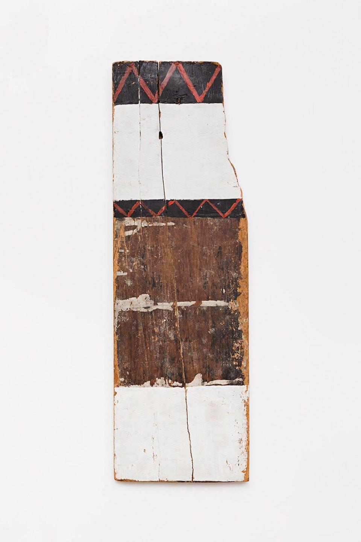 Celso Renato,<em> untitled</em>, circa 1975, acrylic on wood, 75 × 24 × 2 cm<br> - Mendes Wood DM