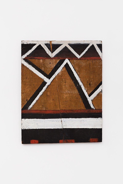 Celso Renato, <em>untitled</em>, circa 1975, acrylic on wood, 35 × 28 × 3 cm - Mendes Wood DM