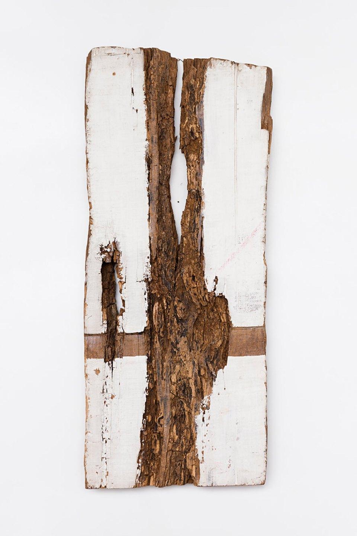 Celso Renato, <em>untitled</em>, circa 1975, acrylic on wood, 75,5 × 31 × 7 cm - Mendes Wood DM