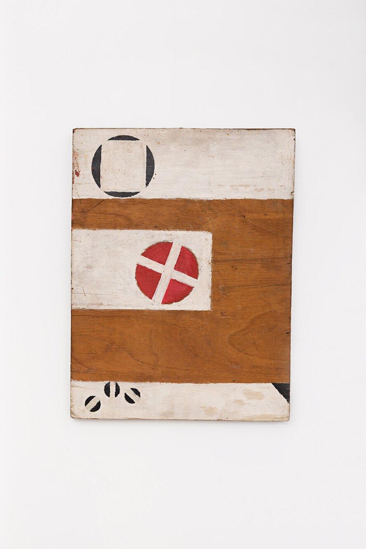Celso Renato, <em>untitled</em>, circa 1970, acrylic on wood, 45 × 34 × 3 cm - Mendes Wood DM