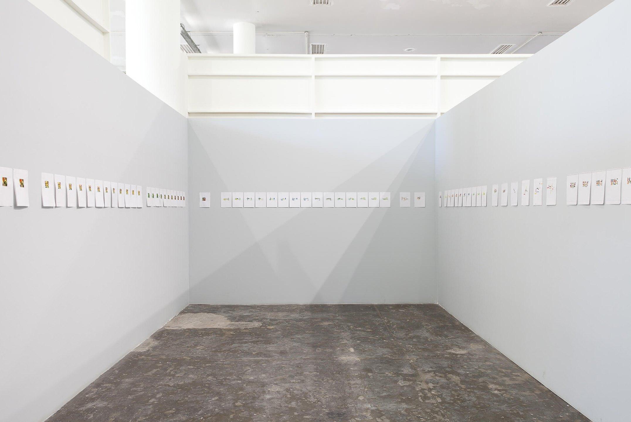 Daniel Steegmann Mangrané,<em>Lichtzwang, 30ª Bienal de São Paulo, Iminência das Poéticas,</em> São Paulo, 2012 - Mendes Wood DM