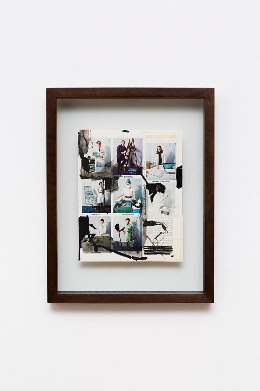 Deyson Gilbert,<em>untitled</em>, 2009, ink on paper, 17 ×22 cm - Mendes Wood DM