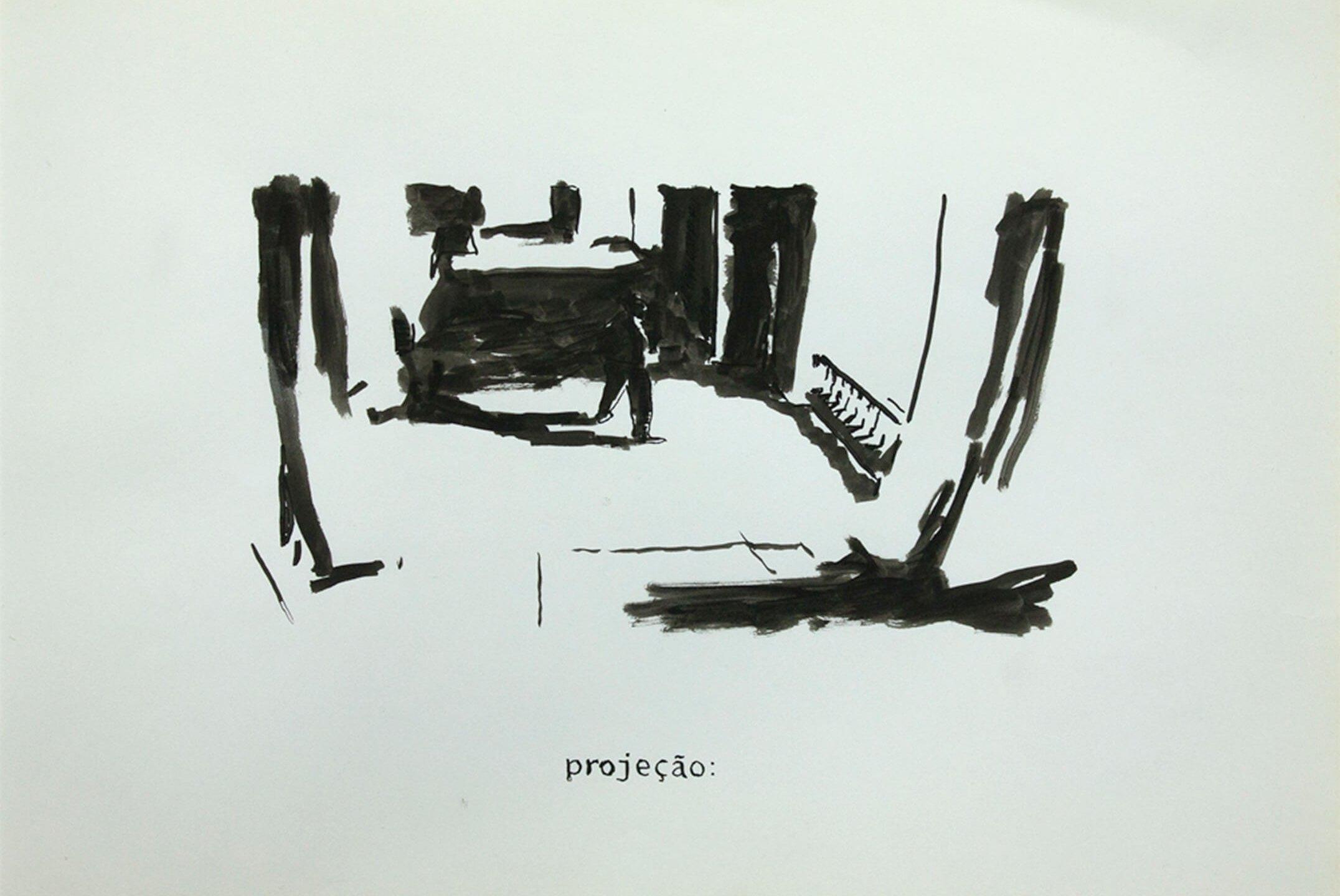 Deyson Gilbert,<em>untitled</em>,2011, ink on paper, 33 ×23 cm - Mendes Wood DM