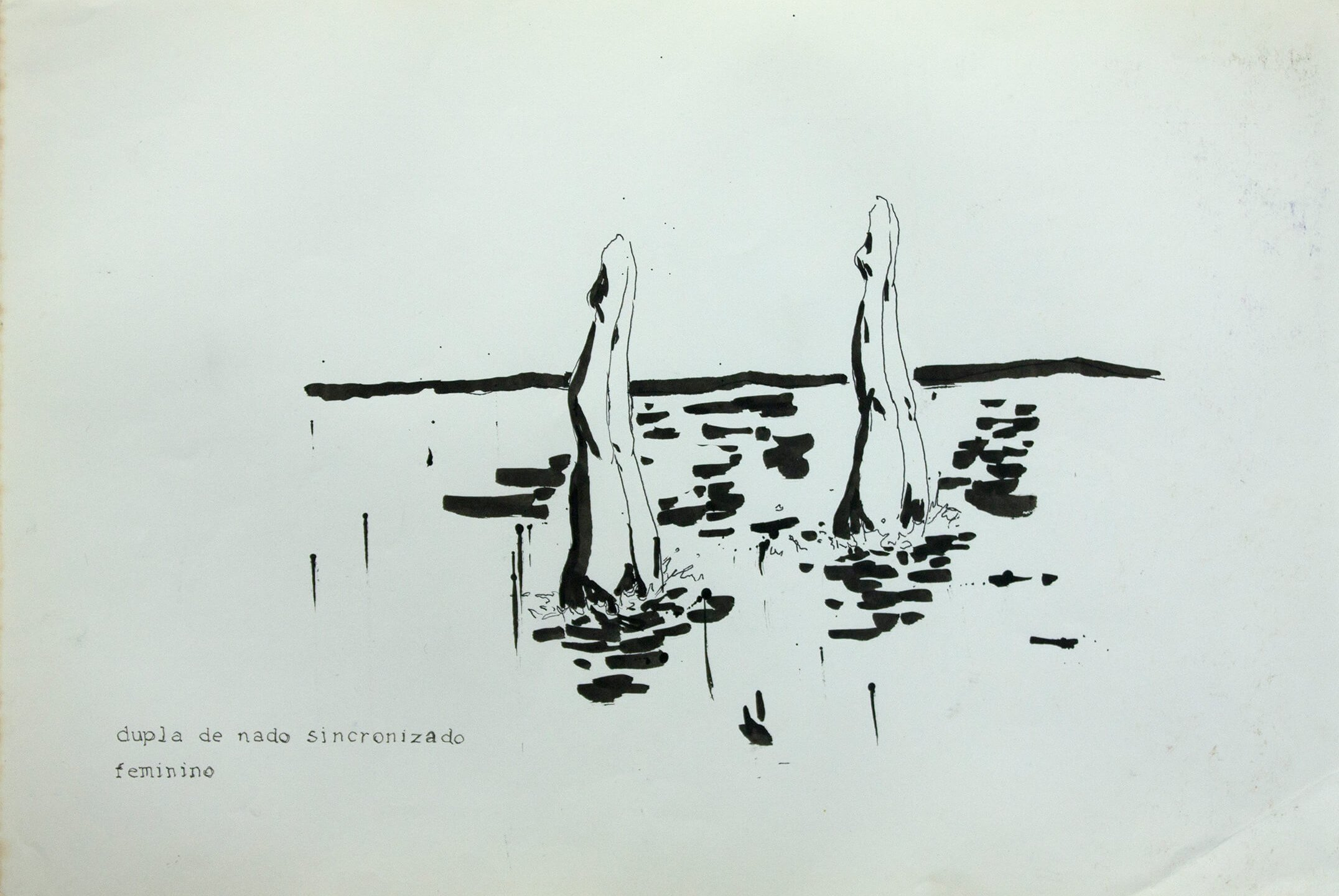 Deyson Gilbert,<em> untitled</em>, 2011, ink on paper,23 × 33 cm - Mendes Wood DM