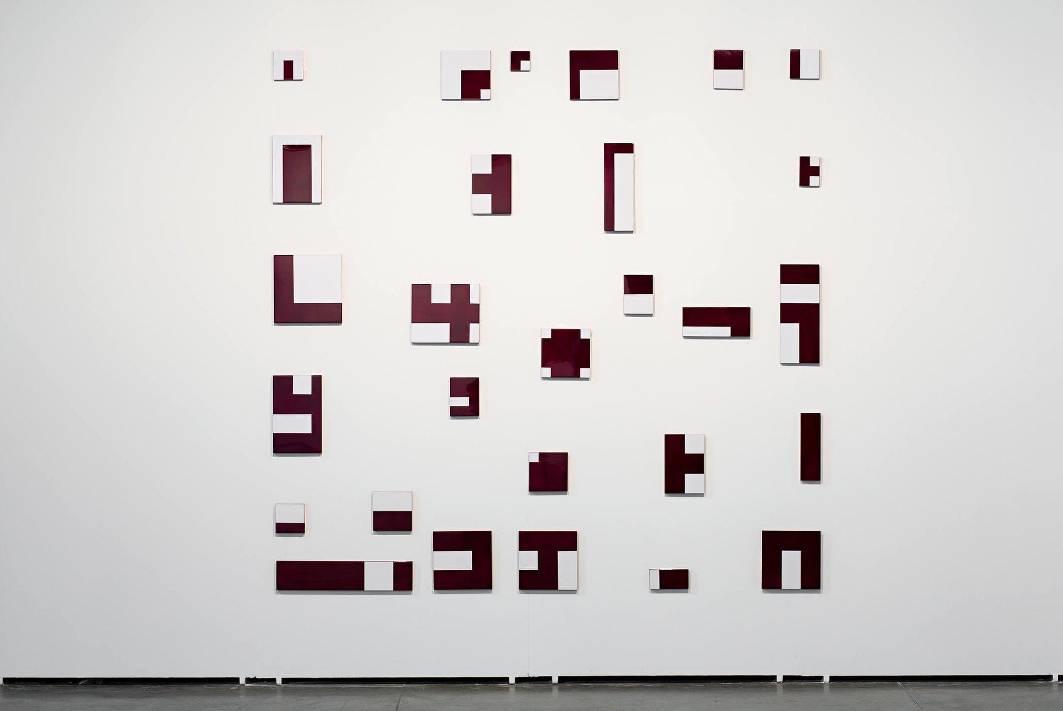 Deyson Gilbert,<em>untitled</em>, 2013, resin, lacquer and wood, 280 × 280 cm - Mendes Wood DM
