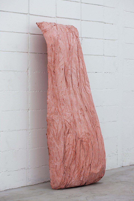 Michael Dean, <em>nnnnnnnnnnnnn</em>,2013,concrete,172,5 × 65 × 64 cm - Mendes Wood DM