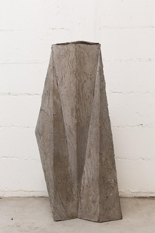 Michael Dean, <em>chch (Working Title)</em>,2013,concrete,88 × 49 × 17 cm - Mendes Wood DM