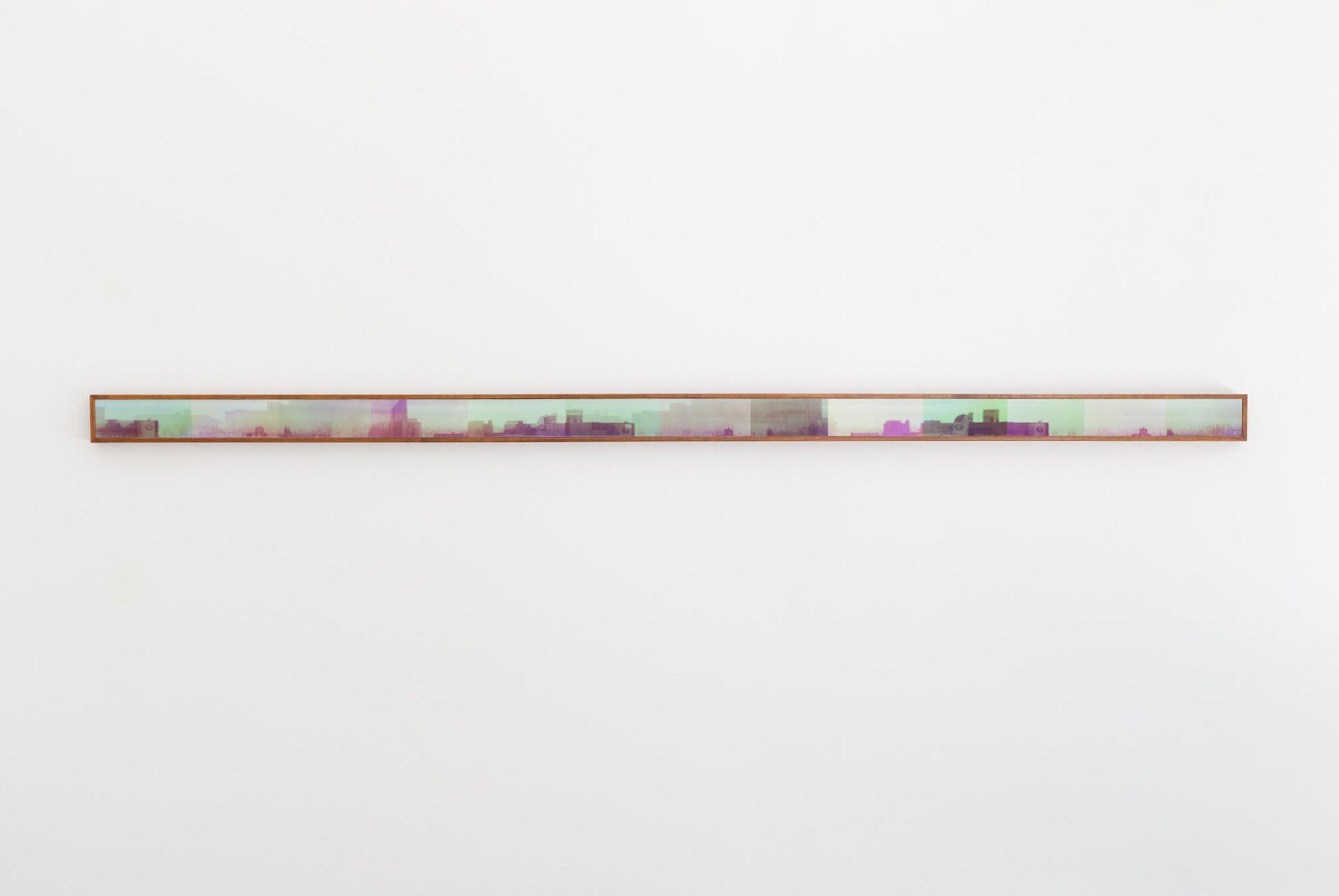 Leticia Ramos,<em>Panorâmica</em>, 2009, photograph 35mm on coton paper, 6,7 × 200 cm - Mendes Wood DM