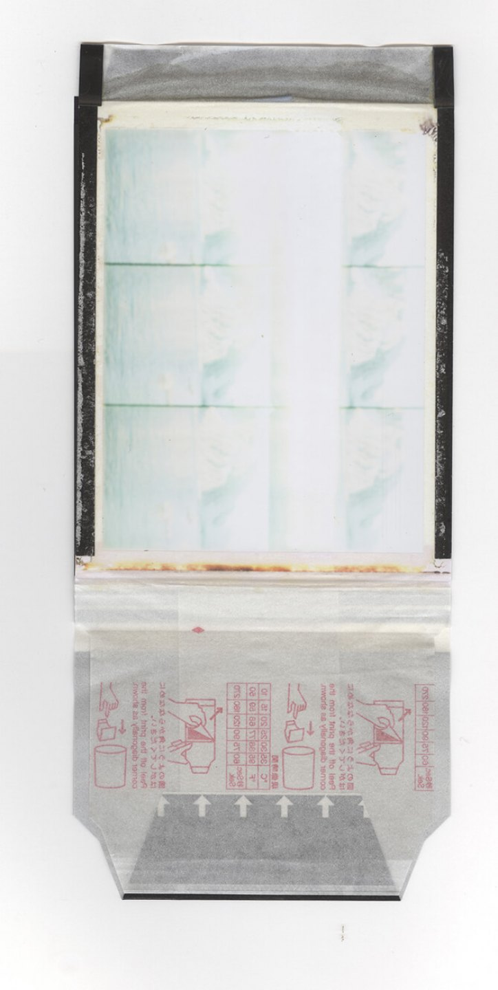 Leticia Ramos, <em>Polar 24</em>, 2011, polaroid from camera Lupa 6, 10 × 7 cm - Mendes Wood DM