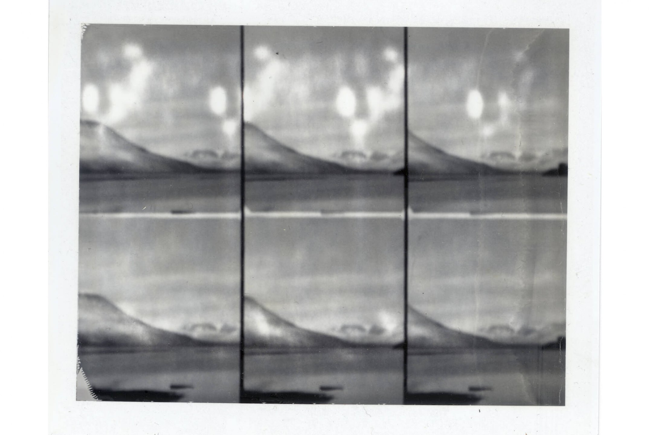 Leticia Ramos, <em>Paleolítico I,</em> 2012, polaroid photography, 10,5 × 8,5 cm - Mendes Wood DM